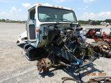 1996 INTERNATIONAL 4700 TRUCK FRONT CUTOFF,  IH DT466 DIESEL ENGINE, FRONT
