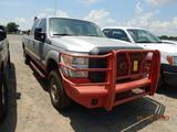 2013 FORD F250 PICKUP TRUCK, 182,863 MILES  4X4, QUAD CAB, POWERSTROKE 6.7L