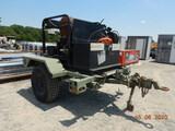 LANDA SC-22 PRESSURE WASHER,  DIESEL ENGINE, ELECTRIC START, MOUNTED ON MIL