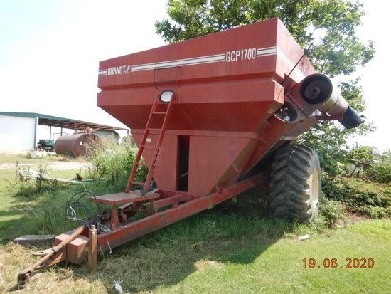 BRANDT GCP1700 GRAIN CART,  30.5L32 TIRES, LOCATION: ALTHEIMER, AR S# 308