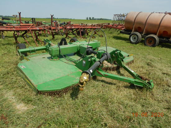 JOHN DEERE HX10 ROTARY CUTTER  PULL TYPE, LOCATION:  ALTHEIMER, AR