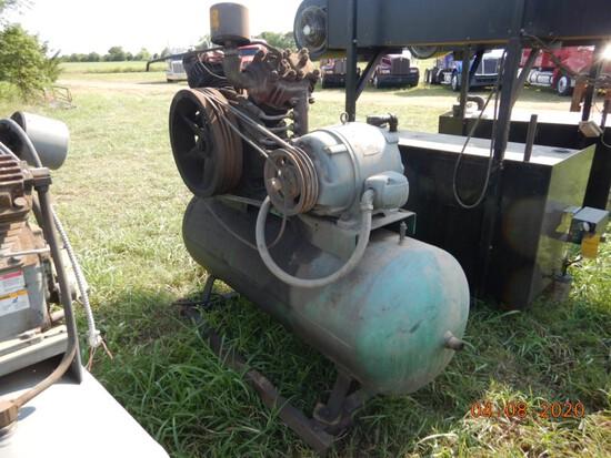 GARDNER DENVER AIR COMPRESSOR,  15 HP  ELECTRIC MOTOR
