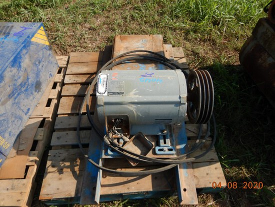 ELECTRIC MOTOR,  20 HP, 3 PHASE