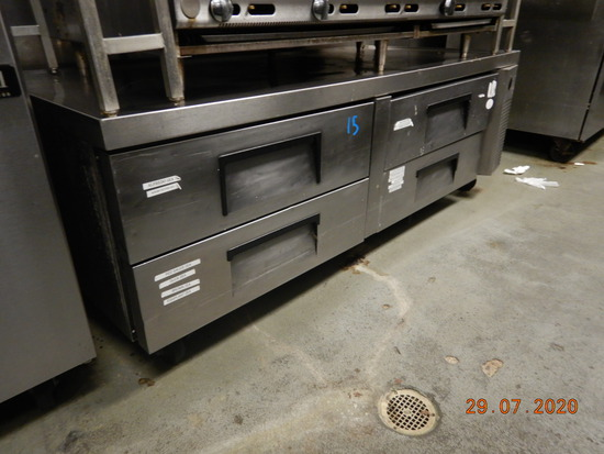REFRIGERATED CHEF BASE,  (4) DRAWERS