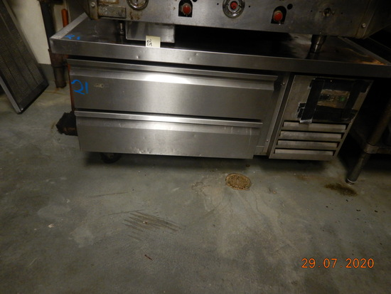 REFRIGERATED CHEF BASE,  (2) DRAWERS