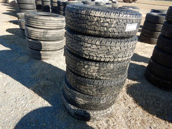(6) 235/70R17 10-PLY TIRES
