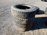 (4) 295/75R22.5 TIRES