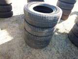(4) 255/55R17 TIRES