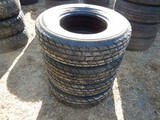 (4) 235/80R16 10-PLY TIRES