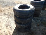 (4) 265/70R17 TIRES