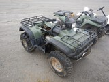 HONDA FOREMAN 420 ATV,  4 X 4, SEAT MISSING, CONDITION UNKNOWN
