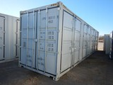 2020 SHIPPING CONTAINER,  40', HIGH CUBE, (4) DUAL DOOR SIDE OPENINGS, (1)