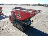 ALLEN ENGINEERING AT14 CONCRETE DELIVERY HOPPER, 563+ hrs,  RUBBER TRACKS,