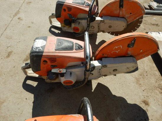 STIHL ST700 CUT-OFF SAW,  GAS POWERED