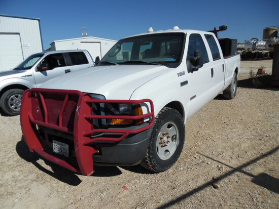 2007 FORD F-350 TRUCK, unknown mi,  CREW CAB, 2-WD, 6.4 LITRE POWERSTROKE D