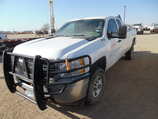 2012 CHEVROLET 2500 TRUCK, 200,611+ mi,  EXTENDED CAB, 2-WD, 6.6 LITRE DURA