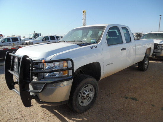 2013 CHEVROLET 2500 TRUCK, unknown mi,  EXTENDED CAB, 2-WD, 6.6 LITRE DURAM