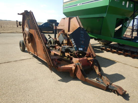 BUSHHOG 3615 BATWING MOWER  15FT, SHAFT IN THE TRAILER, BOOK IN THE OFFICE