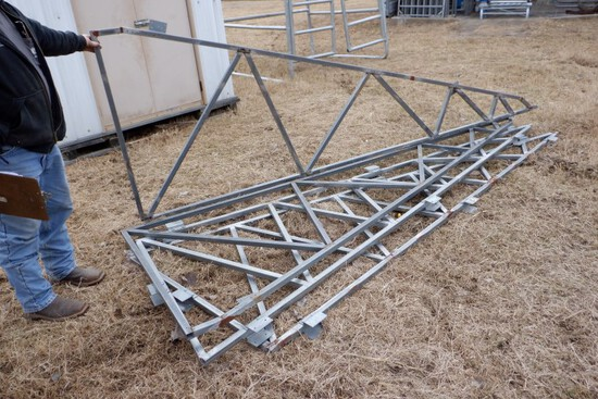 (4) AWNING TRUSSES,  12'