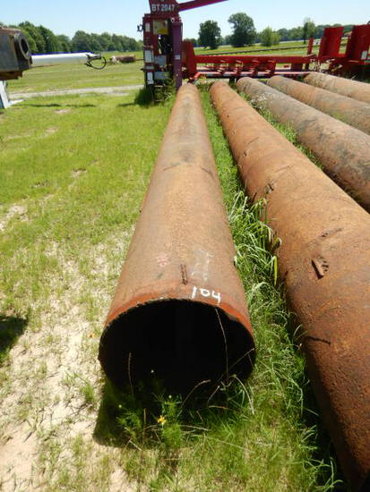 """(1) STEEL PIPE,  22"""" X 29' APPROX."""
