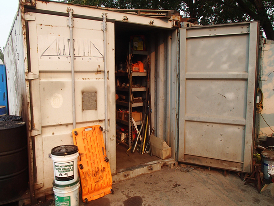STEEL CONTAINER,  20'