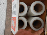 (2) BOXES OF ULINE STRETCH WRAP AND MISC