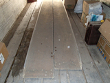 (2) MELCHER COMPOSITE RAMPS,  APPROX 15' AND 18