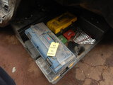 PALLET WITH TOOLBOXES, C-CLAMPS, WRENCHES, SOCKETS AND MISC.