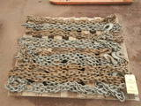 PALLET WITH HEAVY DUTY SHORT CHAINS