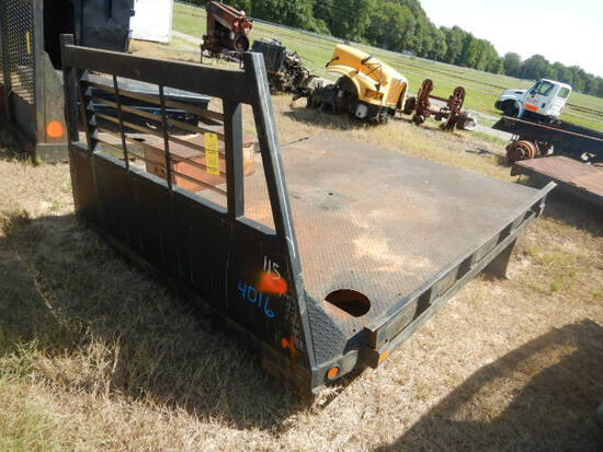 FLATBED BED,  9', FOR 1-TON TRUCK