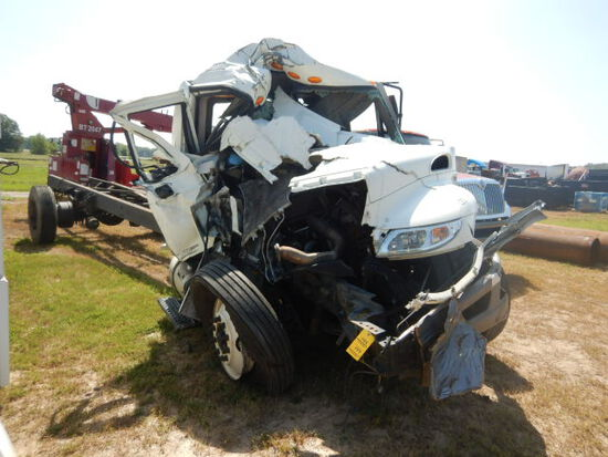 2014 INTERNATIONAL 4300 CAB & CHASSIS,  WITH MOTOR AND TRANSMISSION S# 0266