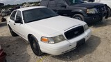 2007 FORD CROWN VICTORIA CAR, 95,293+ mi,  POLICE INTERCEPTER PACKAGE, 4.6