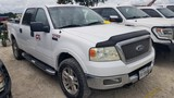 2005 FORD F-150 TRUCK,  CREW CAB, 4 X 4, 5.4 LITRE GAS, AUTOMATIC, PS, AC,