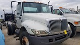 2007 INTERNATIONAL 4300 CAB & CHASSIS,  DT466 DIESEL, AUTOMATIC, SPRING RID