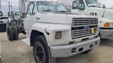 1994 FORD F-700 CAB & CHASSIS, 95,202+ mi,  DAY CAB, 7.0 LITRE GAS, 5-SPEED