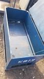 WOODEN STORAGE BOX,  4' X 2'