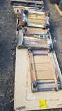 LOT OF MOVING CARTS / DOLLIES  & PORTABLE TOILET