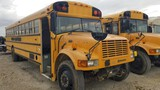 1996 INTERNATIONAL 3800 AMTRAN SCHOOL BUS, 117,091+ mi,  50-PASSENGER, T444