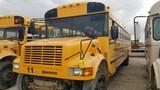 1998 INTERNATIONAL 3800 AMTRAN SCHOOL BUS, 65,830+ mi,  50-PASSENGER, T444E