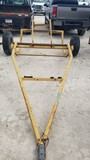 ROUND HAY BALE BUGGY,  BUMPER PULL