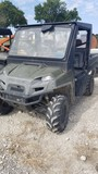 2011 POLARIS RANGER 800 XP ATV,  4 X 4, GAS, CAB, AC, HEAT S# 4XATH76A3B420