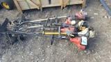ASSORTED WEEDEATERS / TRIMMERS