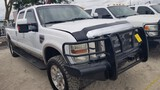 2008 FORD F-350 TRUCK,  CREW CAB, 4 X 4, KING RANCH, 6.4 LITRE POWERSTROKE