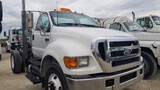 2005 FORD F-750 CAB & CHASSIS, 294,096+ mi,  DAY CAB, CAT C7 DIESEL, 6-SPEE