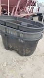ASSORTED WATER TROUGHS AND TUBS