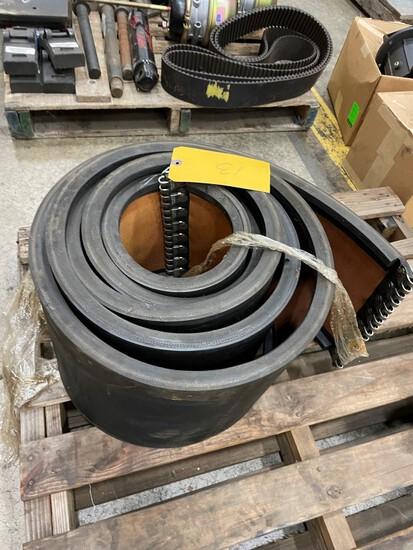 "(1) 12"" Kershaw Reclaimer belt w/mounting hinge, LOAD OUT FEE $5"