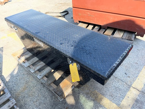 (1) Husky Truck bed tool box, LOAD OUT FEE $5