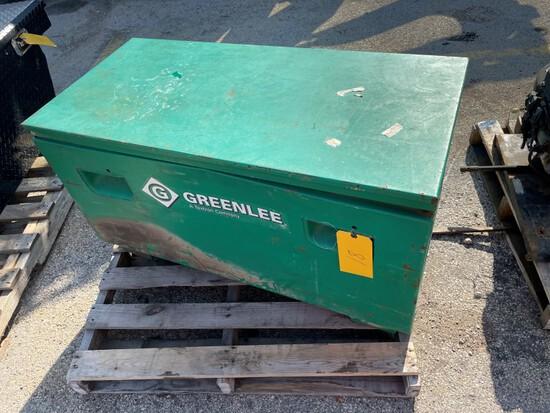 "(1) Greenlee Job Box 20""X24""X42"", LOAD OUT FEE $5"