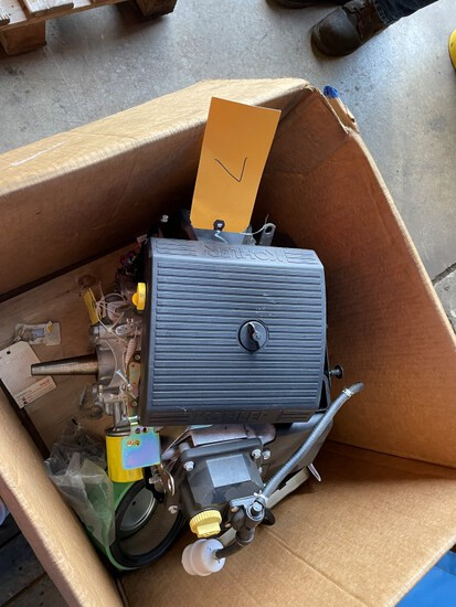 (1) 22.5 HP Kohler Command Pro twin Gas engine, Elect Start, new in box,  C