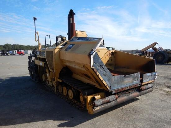 2001 Caterpillar AP-650B Asphalt Paver, Track, Street Type Pads, Cat Extend